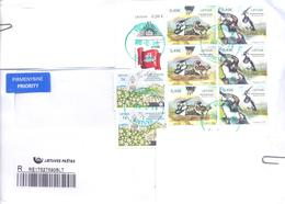 2019. Lithuania, The Letter Sent By Registered Prioritaire Post To Moldova - Litauen