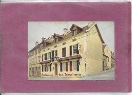 21290 VOULAINES LES TEMPLIERS  - HOSTELLERIE DES TEMPLIERS - Cartoncini Da Visita
