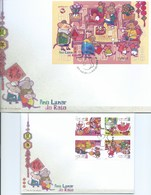 MACAU - 2020 LUNAR YEAR OF THE RAT FDC OF THE & FDC OF THE S\S - 1999-... Chinese Admnistrative Region