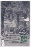 BILLANCOURT- STAND DES USINES PORTHOS- SALON DE L AUTOMOBILE 1907/08- PARIS - Boulogne Billancourt