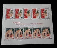 Monaco Bloc-feuillet YT N°19 1981 Celebration Des Rameaux NEUF SANS CHARNIERE - Monaco
