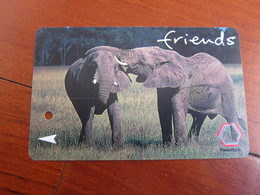 TransitLink Metro Ticket Card,elephant, Used With A Light Scratch - Singapur