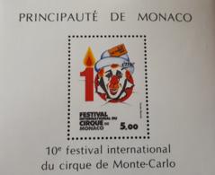 MONACO BLOC FEUILLET YT29 1984 FESTIVAL INTERNATIONAL  NEUF SANS CHARNIERE - Neufs