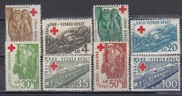 Bulgaria 1947 - Red Cross, YT 515/22, Neufs** - Unused Stamps
