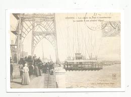Cp, 44 , NANTES , Les Essais Du Pont à Transbordeur ,la Nacelle à Son Premier Départ , Jeu Concours Presse-Océan - Nantes