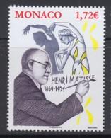 2.- MONACO 2019 150th Anniversary Of The Birth Of Henri Matisse - Impresionismo