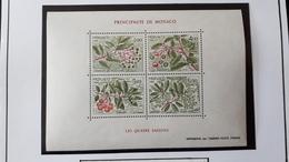 MONACO BLOC FEUILLET YT36 1986 LES QUATRE SAISONS DE L'ARBOUSIER NEUF SANS CHARNIERE - Monaco