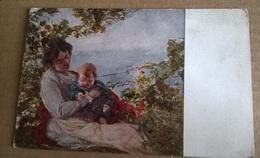 IMMAGINE DI MARIA SS DELLA FEDE VENERATA NELLA PIEVANIA DI S. STEFANO IN MACERTA VIAGGIATA 1918 (1664) - Illustratori & Fotografie