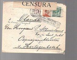 1918 Censor Waspik Etgataugeloria > Stanislaus Capucijnenklooster 's-Hertogenbosch Holland (275) - Marcophilie