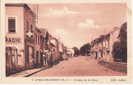 L ISLE EN DODON  -  AVENUE DE LA GARE - Autres Communes