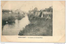 70   HERICOURT  -  La LUZINE  Et  Le GRAND - PONT  , ( Les Pecheurs ) - Francia