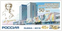 Russia 2019 Pushkin. Overprinted.MNH - Unused Stamps