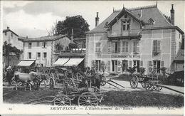 SAINT FLOUR L' Etablissement Des Bains - Saint Flour