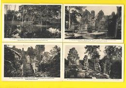 4 Cp Angkor Thom, Neak-Péan, Phnom-Bakheng (Amis D'Angkor) Cambodge - Cambodia
