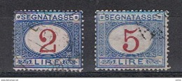 REGNO:  1903  TASSE  -  S. CPL. 2  VAL. US. -  SASS. 29/30 - 1900-44 Vittorio Emanuele III