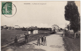42 SORBIER **La Route De Langonand** (chemin De Fer, Gare) - France