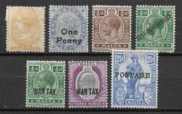 Malta  MH Stamps Lot - Malta