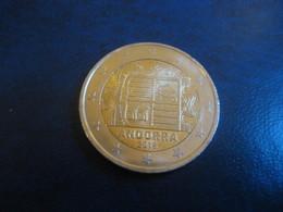 2 EUR 2018 ANDORRA Bi-metallic Coat Of Arms Good Condition Euro Coin - Andorre