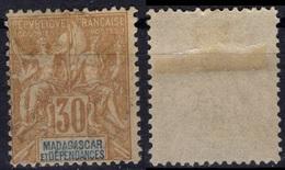 MADAGASCAR  36 (o) Type Colonies Françaises [colcla] (CV 4 €) - Madagascar (1889-1960)