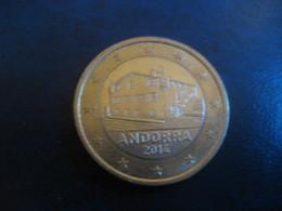 1 EUR 2014 ANDORRA Bi-metallic Normal Condition Euro Coin - Andorre