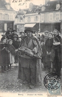 C P A 1904  Berry Jouer De Veille Cachet Mont-Rond - Frankrijk