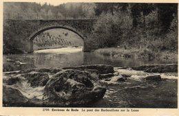 Environs De Redu  - Le Pont Des Barbouillons Sur La Lesse - Libin