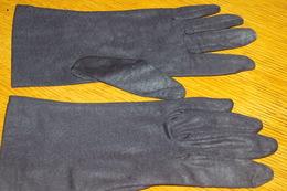 GANTS FEMME Tissu Noir élastique - Vintage Clothes & Linen