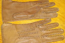 GANTS FEMME En CUIR - Vintage Clothes & Linen