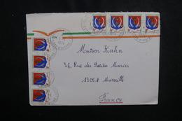 CÔTE D'IVOIRE - Enveloppe De Grand Bereby  Pour Marseille En 1974, Affranchissement Plaisant - L 50093 - Côte D'Ivoire (1960-...)
