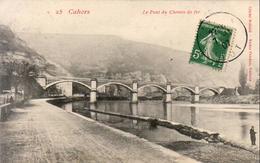 D46  CAHORS  Le Pont Du Chemin De Fer - Cahors
