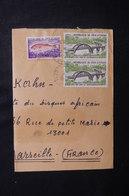 CÔTE D'IVOIRE - Enveloppe En Recommandé De Lakota  Pour Marseille En 1974, Affranchissement Plaisant - L 50094 - Côte D'Ivoire (1960-...)