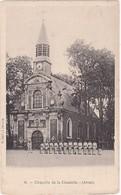 Pas De Calais : ARRAS : Chapelle De La Citadelle, ( Animée Groupe De Soldats ) - Arras