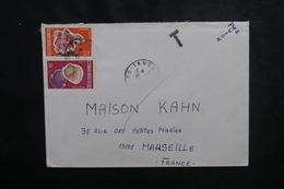 CÔTE D'IVOIRE - Enveloppe De Tanda Pour Marseille  Affranchissement Plaisant, Cachet De Taxe - L 50102 - Côte D'Ivoire (1960-...)