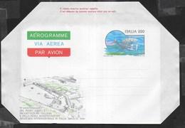ITALIA - AEROGRAMMA - 70° PROGETTAZIONE PRIMO AEREO ITALIANO (INT. 11) - NUOVO - 6. 1946-.. Repubblica