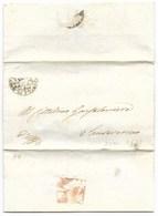 REPUBBLICA ROMANA - DA SANSEVERINO PER CITTA' - 3.5.1849. - ...-1850 Voorfilatelie