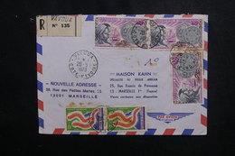 CÔTE D'IVOIRE - Enveloppe En Recommandé De Vavoua Pour Marseille En 1973  Affranchissement Plaisant - L 50107 - Côte D'Ivoire (1960-...)