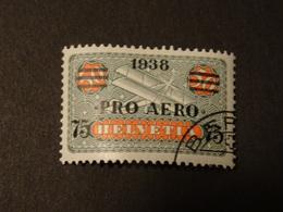 SUISSE  POSTE AERIENNE 1938 - Usati