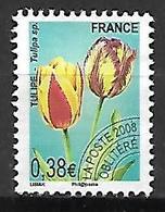 FRANCE    -    Préos   -   2008  .  Y&T N° 254 Oblitéré.   Fleurs  /  Tulipes - 1989-....