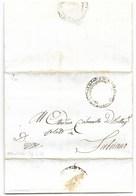 REPUBBLICA ROMANA - DA SANDONATO A FABRIANO - 26.4.1849. - ...-1850 Voorfilatelie