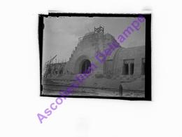 Plaque De Verre NÉGATIF Photo, Construction Ossuaire Douaumont Ww1 - Glasdias