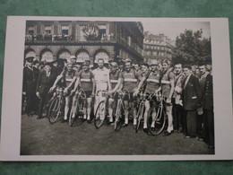Tour De France 1949 - Equipe Du Luxembourg - Ciclismo