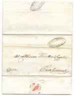 REPUBBLICA ROMANA - DA RECANATI A PORTO RECANATI - 23.5.1849. - ...-1850 Voorfilatelie