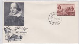 Bechuanaland FDC 1964 William Shakespeare (G91-58) - Writers