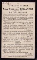 Zerkegem, Zerkeghem, 1911, Anna Demarest, Sanders - Images Religieuses