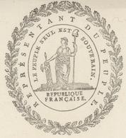 Héraldique Colmar An 3 - 9.10.1794 Foussedoire Représentant Du Peuple Sujet: Prêtres - Documents Historiques