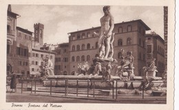 CP Italie Toscana Firenze Fontana Del Nettuno - Firenze (Florence)