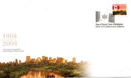 CANADA. N°2042 De 2003 Sur Enveloppe 1er Jour. Drapeau. - Buste