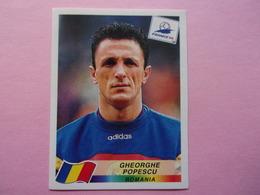 PANINI Football FRANCE 98 N°435 Gheorghe POPESCU Roumanie Roumania - Panini