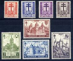 COB 868-875 ** Croix De Lorraine Et Dragon Châteaux Antituberculeux - Belgique