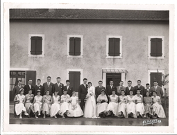 Photo Groupe Mariage - Photographe Albert Dax - Personnes Anonymes